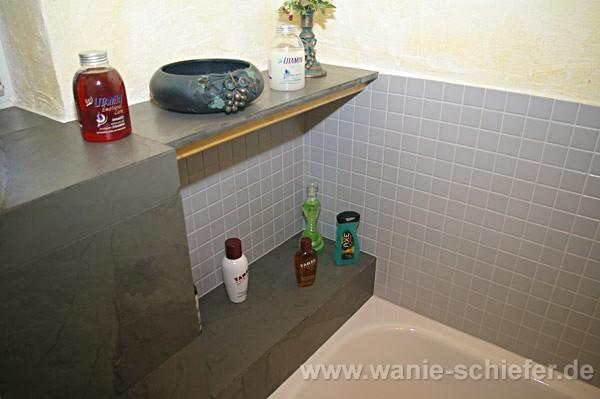 Wanie raum stein deutschlandweit schiefer exklusiv bad - Badezimmer schiefer ...