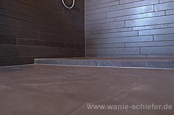 WANIE Raum & Stein deutschlandweit - Schiefer exklusiv - Bad