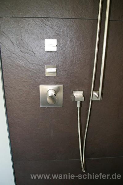 wandverkleidung dusche stein raum und m beldesign inspiration. Black Bedroom Furniture Sets. Home Design Ideas