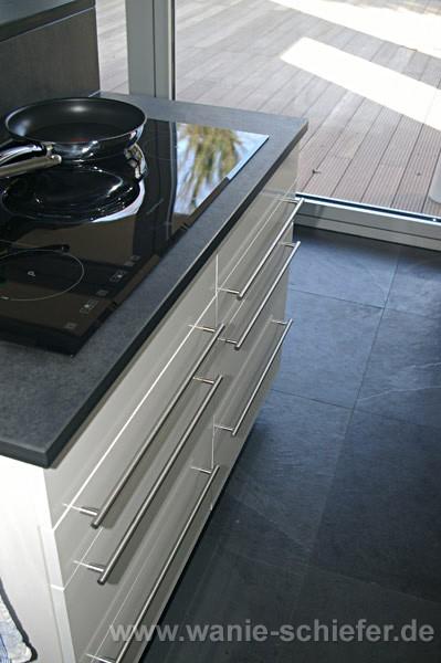 schiefer arbeitsplatte frank. Black Bedroom Furniture Sets. Home Design Ideas